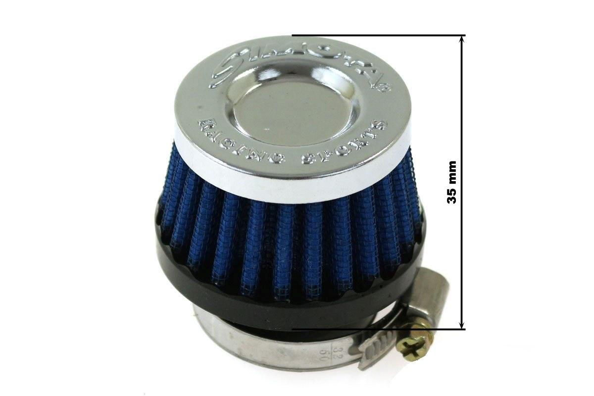 Moto Filtr stożkowy SIMOTA 35mm JAU-MA27223-21 - GRUBYGARAGE - Sklep Tuningowy
